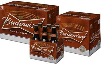 Budweiser представляет новый дизайн своей «бабочки»