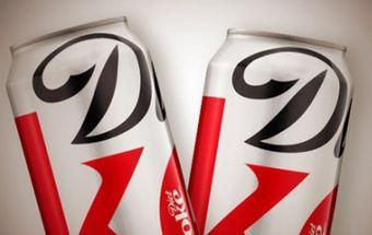 Diet Coke запустит новый дизайн банки к осени