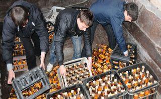 Полиция изъяла у «Росалко» более 550 т контрафактного алкоголя