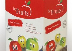 Соки Be Fruits в новом дизайне упаковки