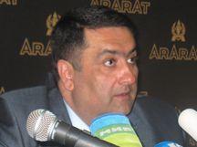 Ереванский коньячный завод увеличил продажи коньяка