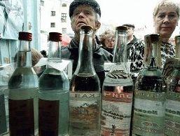 Продажи водки в январе-августе в Беларуси возросли на 14,8%