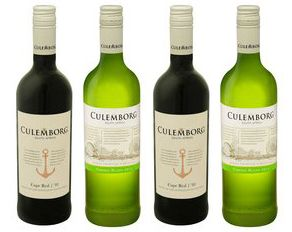 Супероблегченные стеклянные бутылки для вина
