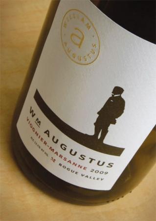 Вино William Augustus White с оригинальной этикеткой