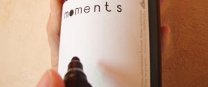 Вино Moments получило пустую этикетку