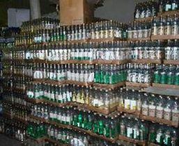 Около 500 тыс бутылок контрафакта изъято в Подмосковье