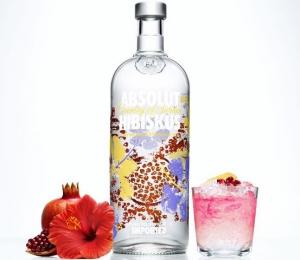 Abosolut представляет новую водку Abosolut HIBISKUS