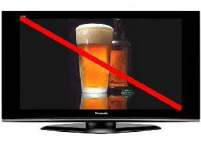 Рекламе пива не место на ТВ