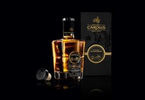 Виски Gouden Carolus Single Malt в упаковке от OSKAR D. ФОТО