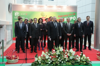 В Экспоцентре открылась международная выставка «Продэкспо-2014»