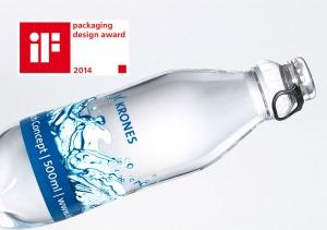 Сверхлегкая ПЭТ-бутылка Krones берет приз