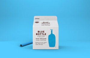 Blue Bottle Coffee - бутылка в коробке
