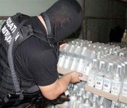 Полиция изъяла в Нижнем Новгороде фальсифицированный алкоголь на сумму более 40 млн рублей
