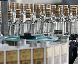 Производство водки в Украине сократилось на 16%