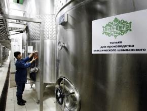 """""""Абрау Дюрсо"""": виноделам Крыма не хватает производственных мощностей"""