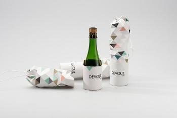 Инновационную упаковку для шампанского предложила дизайнер из Карлстада