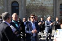 Саммит в Абрау. Открытие Аллеи славы российских виноградарей и виноделов. ФОТО