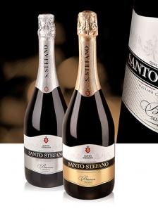 Madison разработал дизайн упаковки игристого вина Santo Stefano