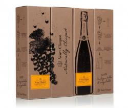 Очередную экологичную упаковку представил дом шампанских вин Veuve Clicquot