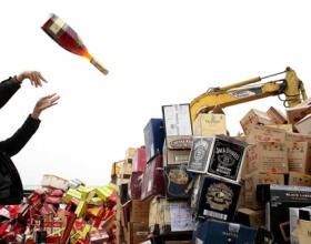 РАР на полгода ускорило процедуру уничтожения контрафактного алкоголя