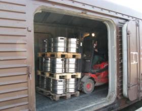 РЖД ввели скидку на внутрироссийские перевозки пива на расстояние от 961 до 3 тыс. км