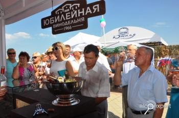 Агрофирма и Винодельня «Юбилейная» отметили начало сбора винограда фестивалем «Таманская лоза». ФОТО