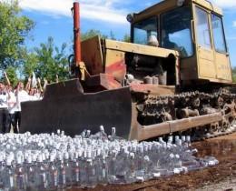Алтайский арбитраж «приговорил» к уничтожению алкоголь завода «Тейси»