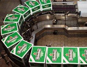Heineken в 2016 году сократила объем продаж в России более чем на 10%