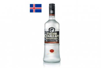 В Исландии стартовали продажи водки «Русский Стандарт»