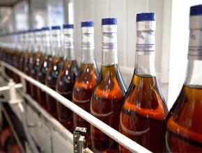 В Молдове сократилось производство коньяка