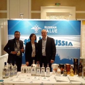 «Татспиртпром» представил на крупной выставке в США водку «Russian value»