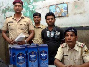 Полиция Индии: тысячи литров изъятого алкоголя выпили крысы