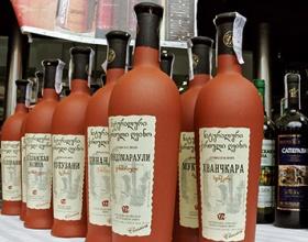 Экспорт вина из Грузии вырос на 59%