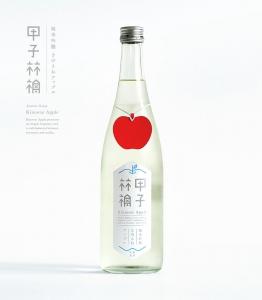 Саке с яблочком. ФОТО