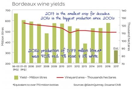 Урожай 2017 в Бордо: так ли страшен этот год?