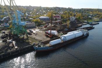 В Чистополь прибыло немецкое оборудования для пивоваренного завода «Татспиртпрома». ФОТО