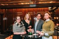 «Вина Шампани - игра ароматов» на ужине в Москве. ФОТО