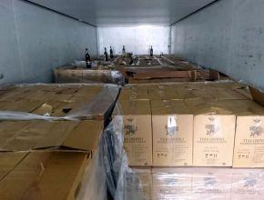 РАР: Более 100 тысяч бутылок нелегального алкоголя арестовано в Саратове. ВИДЕО