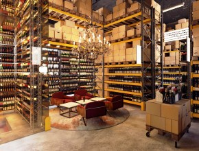 """Сообразили алкомаркет на троих. Real Authentic Wine, """"Марин Экспресс"""" и Ginza Project откроют магазин """"Винный склад"""""""