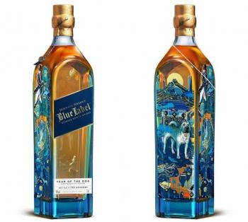 Johnnie Walker представил новую ограниченную серию бутылок в честь китайского Нового года