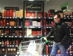 Аналитики назвали самый подешевевший крепкий алкоголь