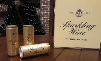 В Молдове начали разливать игристое вино в аллюминиевые банки