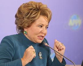 Матвиенко возмутилась торговлей водкой в музеях