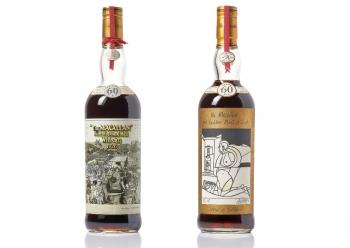 Бутылка виски Macallan продана за рекордные $1,1 млн